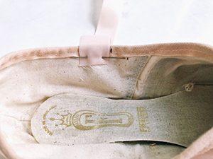 coser zapatillas punta ballet
