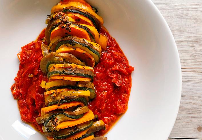 Ratatouille receta original y con ingredientes fáciles de conseguir